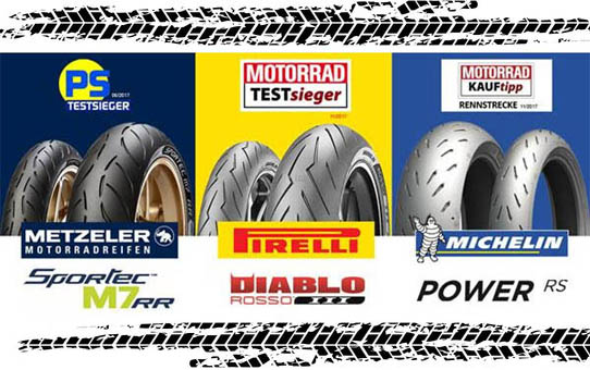 Best motorcycle sport tyres 2017
